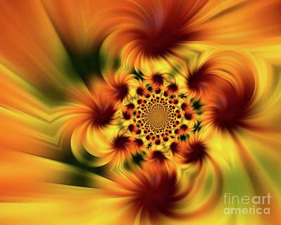 Digital Art - Swirling Imagination by Smilin Eyes  Treasures