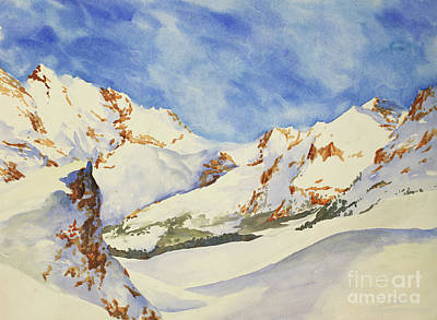Painting - Swiss Alps by Ryan Fox