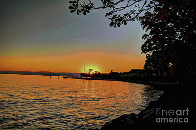 Lake Life - Swiss Sunset by Imagery-at- Work
