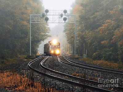 Photograph - Switching Tracks by Mark Miller