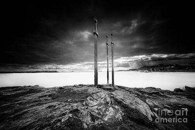 Erik Brede Rights Managed Images - Sword in rock Royalty-Free Image by Erik Brede