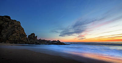 Photograph - Sycamore Canyon Beach by John Rodrigues
