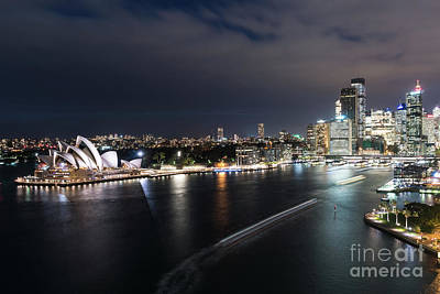 Photograph - Sydney By Night by Didier Marti