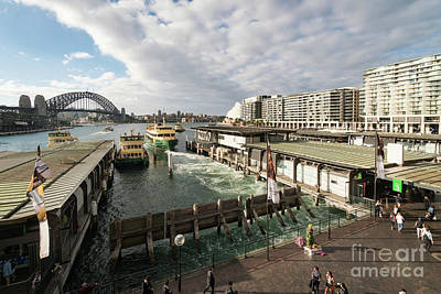 Photograph - Sydney Circular Quay by Didier Marti