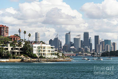 Photograph - Sydney Harbor by Didier Marti