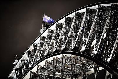 Photograph - Sydney Harbour Bridge by Bradley Rasmussen