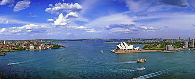 Photograph - Sydney, Harbour, Opera House, Australia by Hans-peter Merten