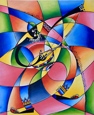 Painting - Symmetry by Femi