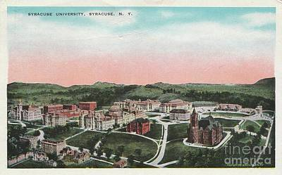 Photograph - Syracuse University by Flavia Westerwelle