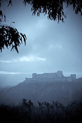 Islam Wall Art - Photograph - Syria, Krak Des Chevaliers Fortress by Michele Falzone