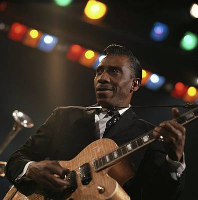 Photograph - T-bone Walker by David Redfern