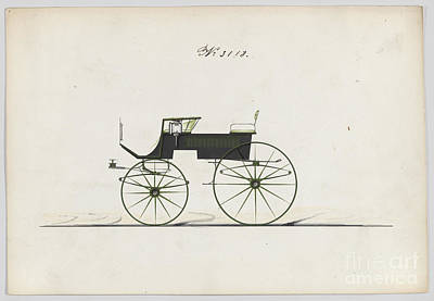 Drawing - T-cart No 3118 by Flavia Westerwelle