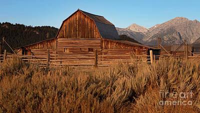 Photograph - Ta Moulton Barn by Doug Sturgess
