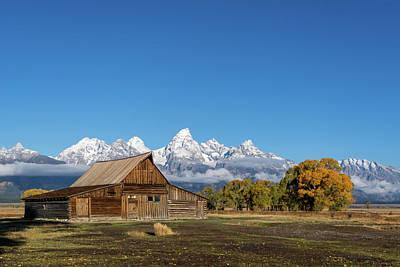 Photograph - Ta Moulton Barn by Mary Hone