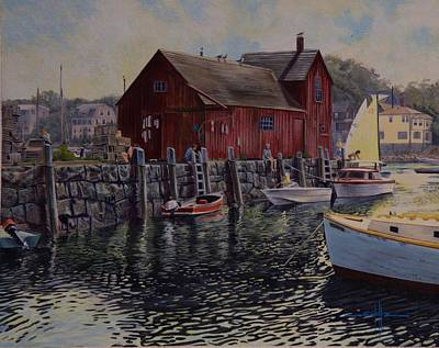 Rockport Harbor  Original