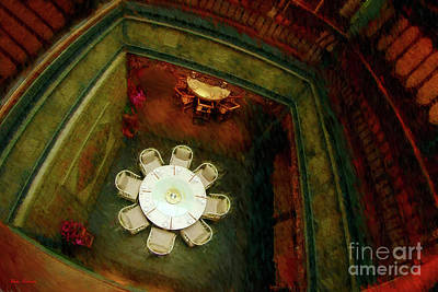 Photograph - Table From Above by Blake Richards