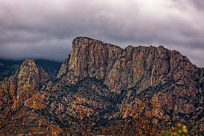 Mark Myhaver Rights Managed Images - Table Mountain h1622 Royalty-Free Image by Mark Myhaver