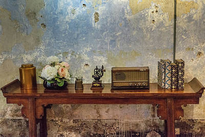 Photograph - Table Of History by Ian Robert Knight