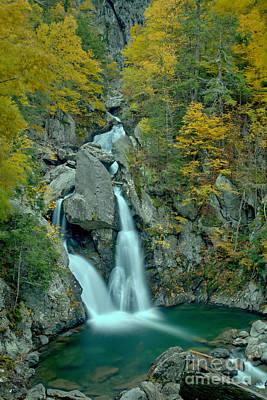 Photograph - Taconic Mountain Waterfall by Adam Jewell