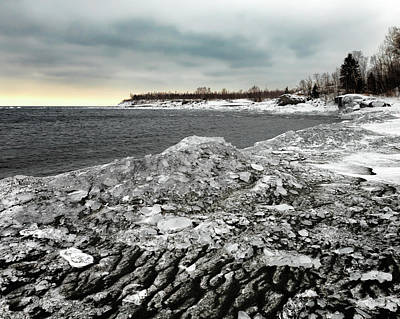 Photograph - Taconite And Ice by Susan Rissi Tregoning