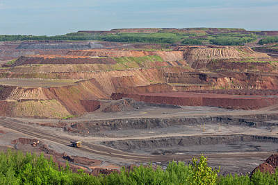 Transportation Royalty-Free and Rights-Managed Images - Taconite Mine View 8 by John Brueske