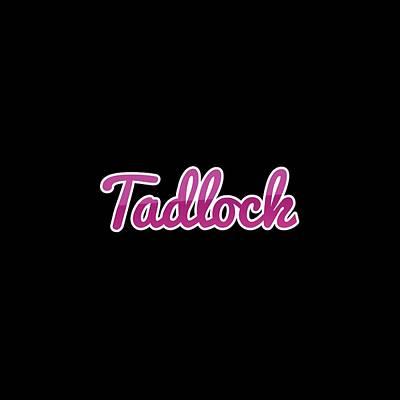 Vintage Pink Cadillac - Tadlock #Tadlock by TintoDesigns