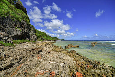 Photograph - Tagachang Beach by Steven Liveoak