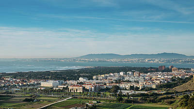Photograph - Tagus River, Portugal Panorama by Alexandre Rotenberg