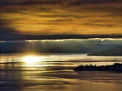 Photograph - Tahoe Gold by Martin Gollery
