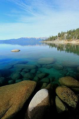 Photograph - Tahoe North Portrait by Sean Sarsfield