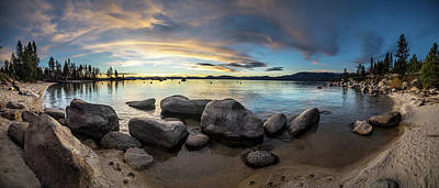 Photograph - Tahoe Panorama by Martin Gollery