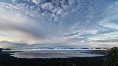 Photograph - Tahoe Sky by Martin Gollery