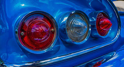 Photograph - Tail Lights by Tom Gresham