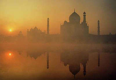 Taj Mahal Art Print by Neal J. Wilson
