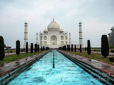 Photograph - Taj Mahal by Robin Zygelman