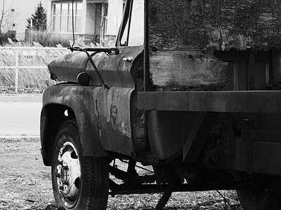 City Scenes - Taken By Time by Dennis Burton