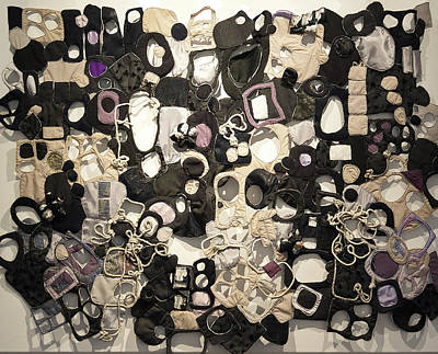 Tapestry - Textile - Talking In Bubbles by Susan Avishai