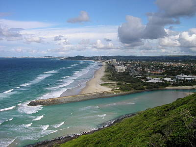 Photograph - Tallebudgera Palm Beach by Damien Te Whiu