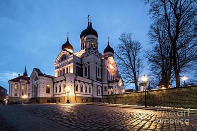 Photograph - Tallinn Church by Didier Marti