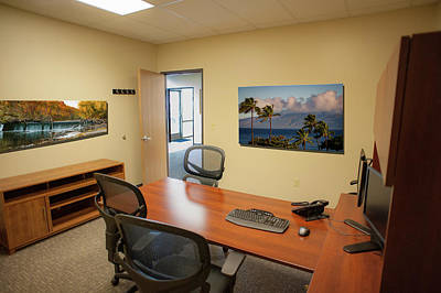 Photograph - Tamara Office East Wall by Jeff Phillippi