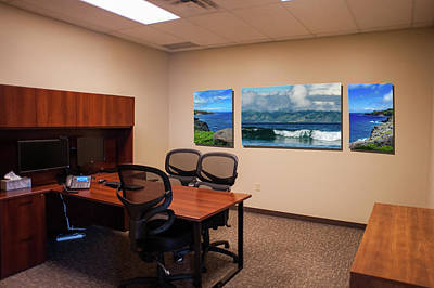 Photograph - Tamara Office West Wall by Jeff Phillippi