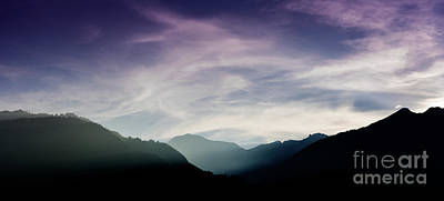 Mountain Royalty-Free and Rights-Managed Images - Tamina Valley by DiFigiano Photography