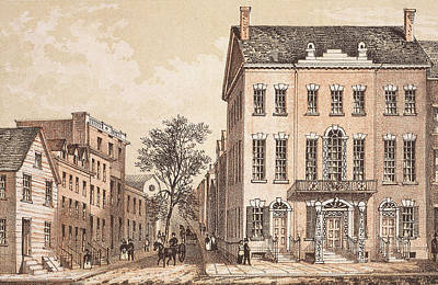 Tammany Hall Art Print by Archive Photos