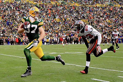 Photograph - Tampa Bay Buccaneers V Green Bay Packers by Matthew Stockman