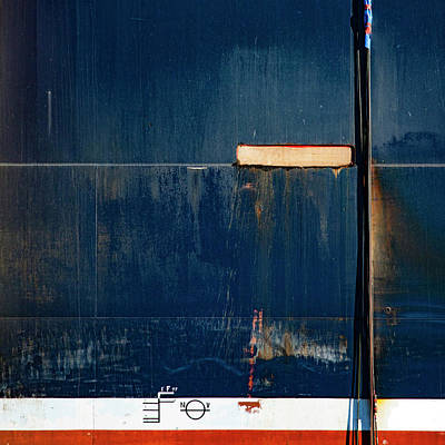 Tanker Wall Art - Photograph - Tanker In Drydock Number 2 by Carol Leigh