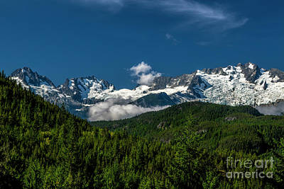 Photograph - Tantalus Mountain Range by Jon Burch Photography