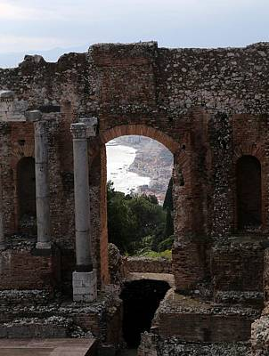 Photograph - Taormina 10 by Andrew Fare