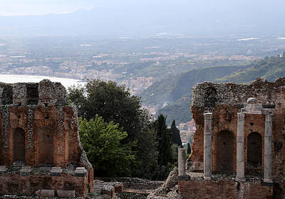 Photograph - Taormina 12 by Andrew Fare