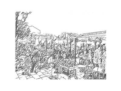 Digital Art - Taormina - Wunderbar by Nicholas V K