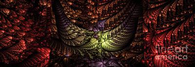 Digital Art - Tapestry by Elaine Manley
